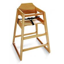chaise enfant en bois chaise haute bois foncé equipements enfant accueil enfant