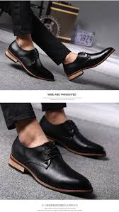 men dress shoes men oxfords for men leather shoes pointed toe