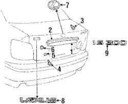 lexus interior parts catalog buy lift gate parts for 2003 lexus vehicle jm lexus parts