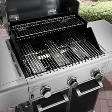 Spider Burners by Kenmore Elite 3 Burner Carbon Grey Metallic Gas Grill