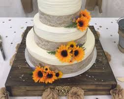 16 inch rustic cake stand custom cake stand country wedding