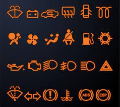 mercedes dashboard symbols lights warning symbols