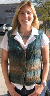 knitting pattern india knit vest women noro silk garden wool knit