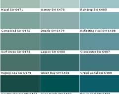 alfa img showing u003e blue green paint colors