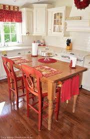 table as kitchen island turn your kitchen table into a farmhouse island exquisitely