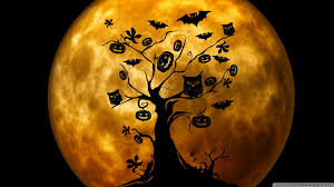 halloween hd wallpapers 1080p halloween owls and bats orange hd desktop wallpaper widescreen