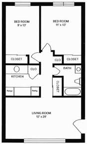 One Floor Small House Plans Tiny House Single Floor Plans 2 Bedrooms Melbourne Village Floor