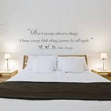 bedroom wall quotes bob marley wall quotes bob marley quote vinyl wall sticker
