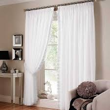 Curtains For Sliding Doors White Curtains For Sliding Glass Doors Affordable Modern Home