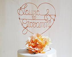 romantic cake topper etsy