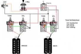 2 humbucker 2 volume no tone wiring diagram wiring diagram