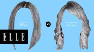 3 hairstyles that make you look old elle youtube