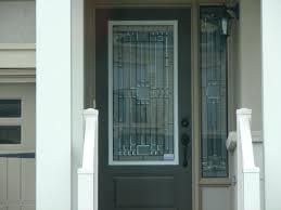 Exterior Door Inserts Decorative Glass Exterior Door Inserts Exterior Doors And Screen