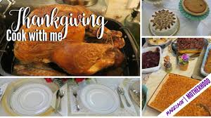 thanksgiving 2017 vlog cook with me
