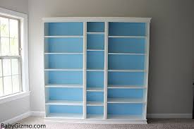 Toy Box With Bookshelves by Diy Ikea Playroom Built In Billy Bookcase Baby Gizmo