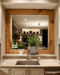 mirror rustic wood mirror is best house decoration for you use