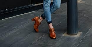 Jual Leather sepatu kulit wanita asli genuine leather