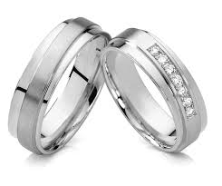 Wedding Rings White Gold by Aliexpress Com Buy 1 Pair 2015 Unique Design Silver White Gold