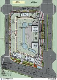 floor plan of a shopping mall hefei wanda mall hyhw architects archdaily