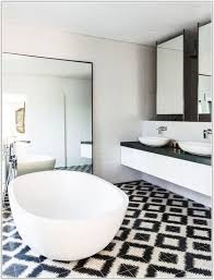 Contemporary Bathroom Decorating Ideas Inspiration 80 Black White Tile Bathroom Decorating Ideas