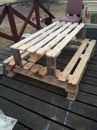 wooden childrens picnic table cute kids furniture made of wooden pallets