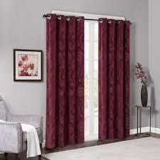 Burgundy Velvet Curtains Buy Burgundy Curtains From Bed Bath U0026 Beyond