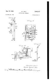 patent us2642157 lifting mast assembly google patents