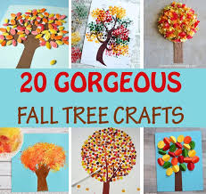 20 creative fall tree crafts non gifts