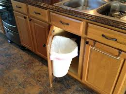 trash cans for kitchen cabinets kitchen cabinet trash bin kitchen cabinet door mounted trash can