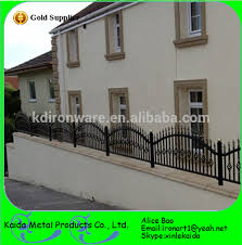 customized cheap wrought iron garden wall fence view wrought iron