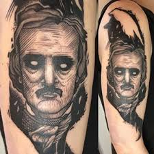 41 best edgar allen poe tattoos images on pinterest instagram