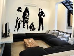 wall art ideas top picks rock music with printed black sabbath