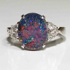 black opal engagement rings black opal engagement rings opal engagement rings