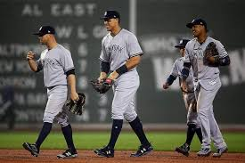 Aaron Judge Yankees Slugger Becomes Tallest Center Fielder - behold the size and strength of yankees phenom aaron judge
