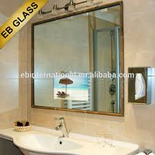 One Way Mirror Bathroom by Half Tempered Glass Half Tempered Glass Suppliers And