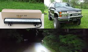 cree light bar review affordable chinese cree led light bar review u box youtube