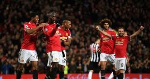 Manchester United Manchester United 4 1 Newcastle Player Ratings Pogba Back With A