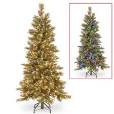 puleo international green 7 5 foot artificial christmas tree with