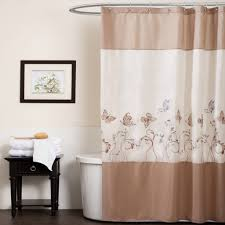 84 Inch Long Shower Curtains Bathroom 84 Inch Shower Curtain Awesome Creamy And Brown Design