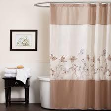 bathroom inch shower curtain awesome creamy and brown design bathroom inch shower curtain awesome creamy and brown design with long floral patterned