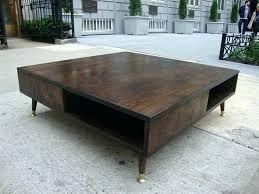 large glass coffee table large modern coffee table mid century modern coffee table decor