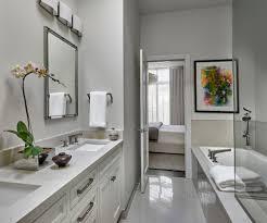 Bathroom Suite Ideas by En Suite Ideas Bathroom Contemporary With His And Hers Bathroom