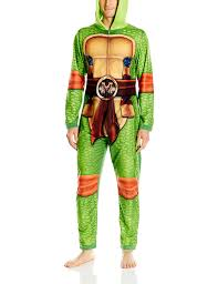 nickelodeon ninja turtles family sleepwear cosplay union suit at