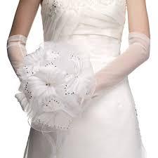 fleur artificielle mariage bouquet de mariage à grandes fleurs artificielles et strass