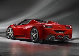 Ferrari 458 Top Speed - ferrari debuts 458 spider ahead of frankfurt