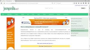 what is spring what is a multipartresolver in spring mvc framework javapedia
