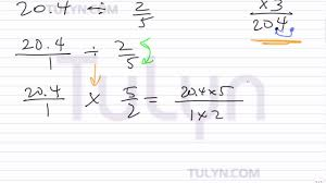 simplifying expressions with fractions and decimals involving the