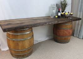 Wine Bar Table Barrel Bar Table Unique Coffee Table Best Wine Barrel Table Ideas