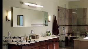 long bathroom light fixtures bathroom vanity lighting with tech lighting metro long and double