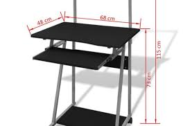 Computer Desk Perth Shelf Computer Table Models Tray Keyboard Undermount Attachable